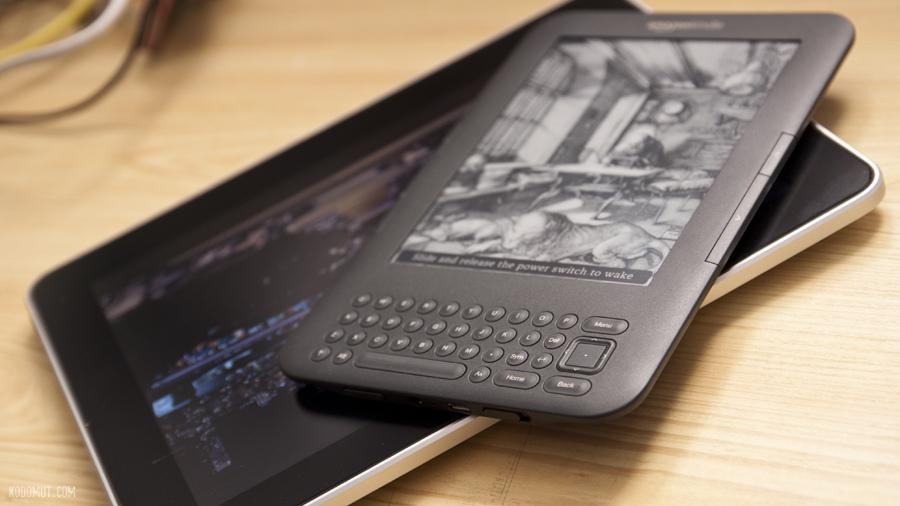 Kindle, iPad, Kindle VS. iPad