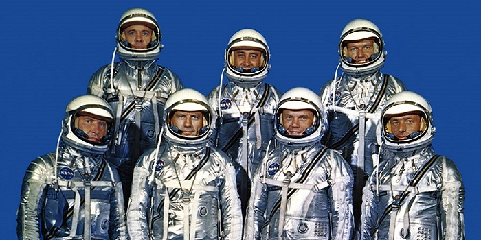 The First Astronauts in the United States Mercury Seven