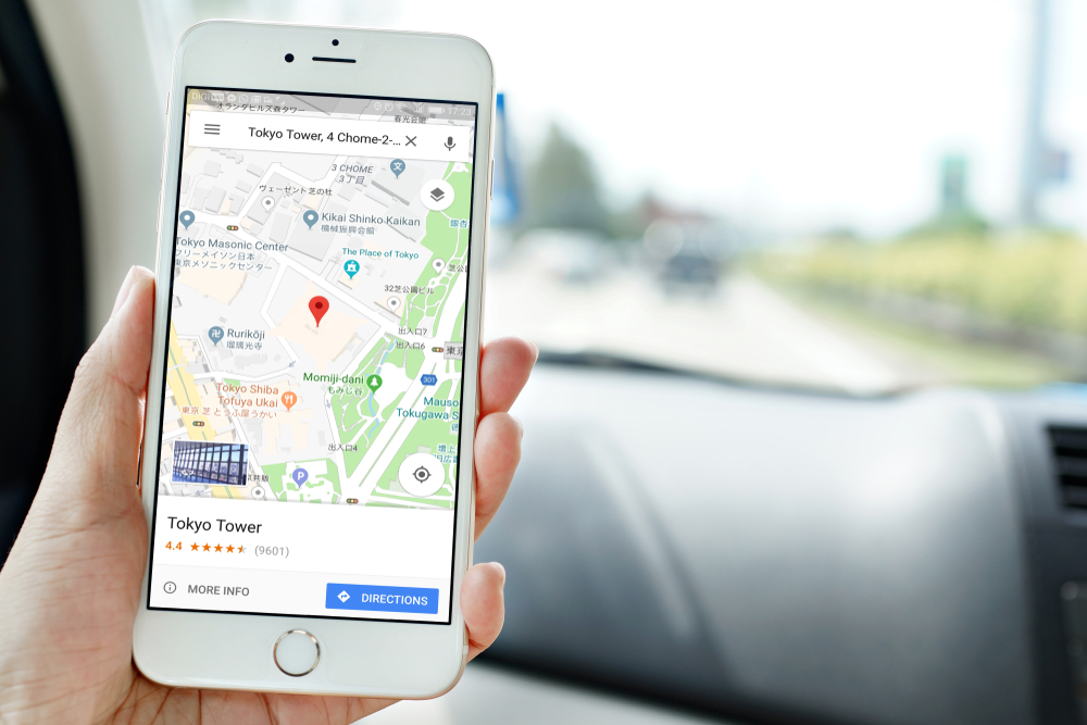 Google Maps, Google Maps Driving Directions
