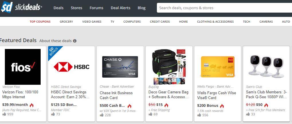 SlickDeals, SlickDeals com, SlickDeals Review