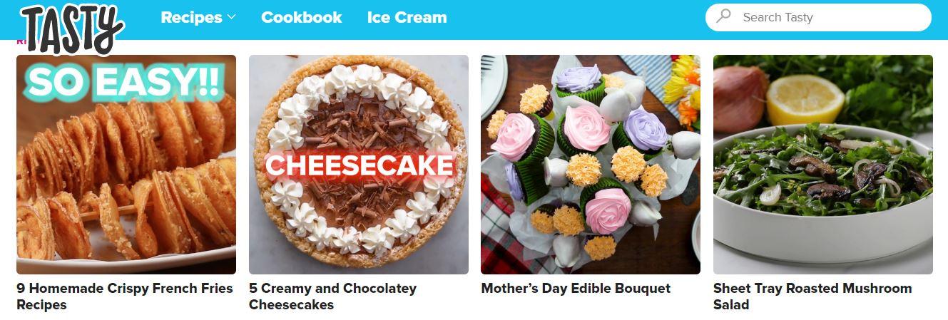 Tasty, Tasty Recipes App, Tasty App