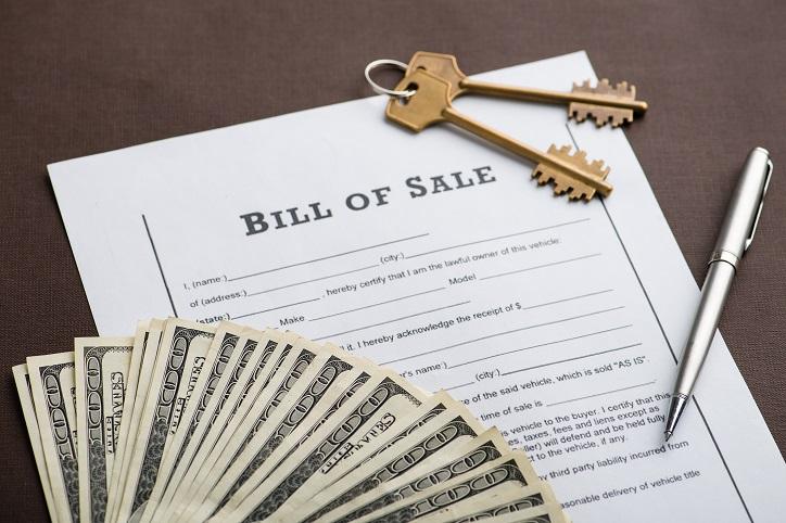 Bill of Sale Form, Bill of Sale