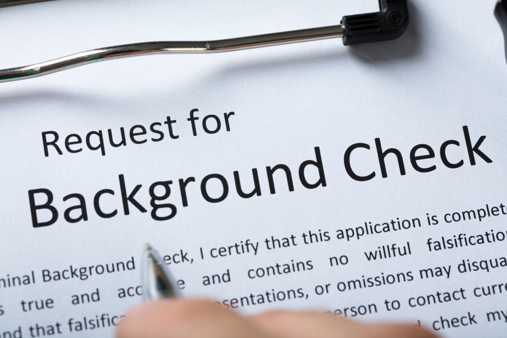 Types of background checks, Background check types