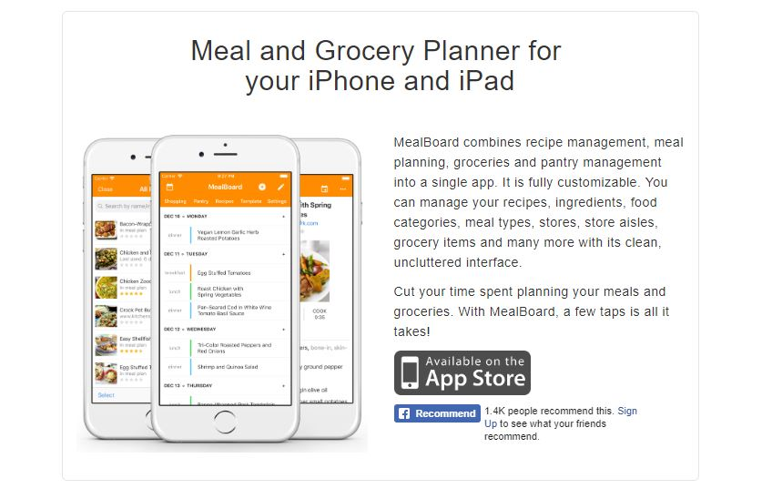 MealBoard, MealBoard App, MealBoard Review