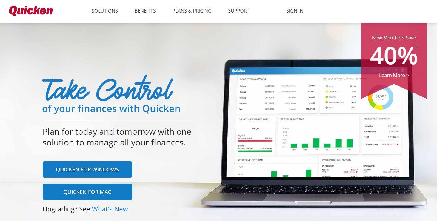 Quicken App, Quicken, Quicken Finance App Review