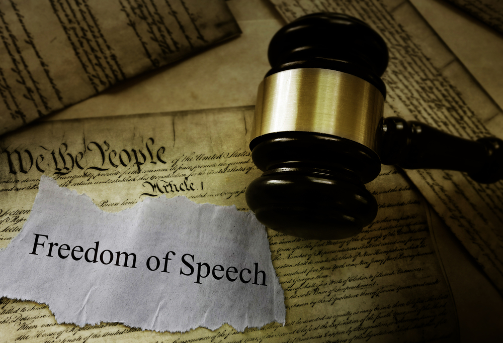 Freedom of Speech Amendment, First Amendment Freedom of Speech