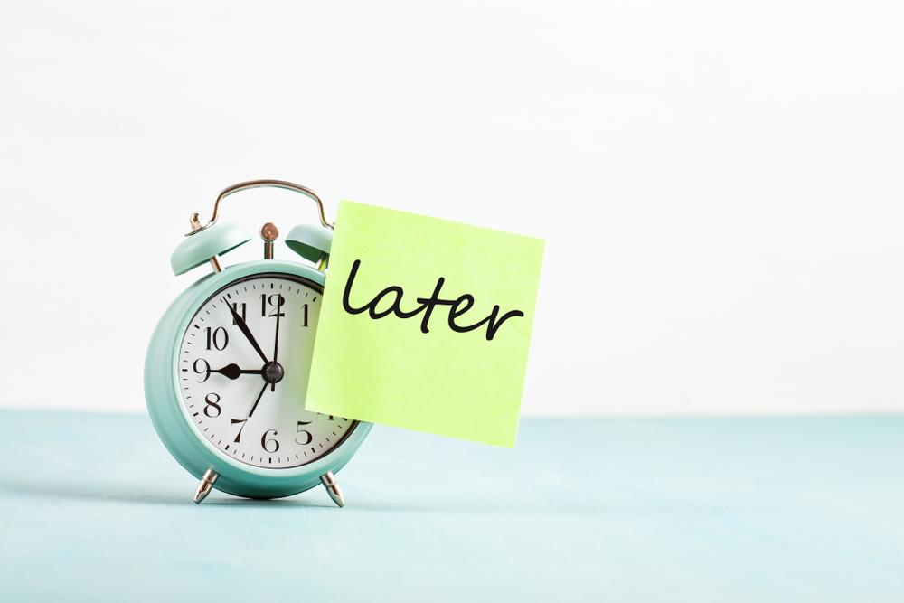 How to Stop Procrastinating, Stop Procrastinating