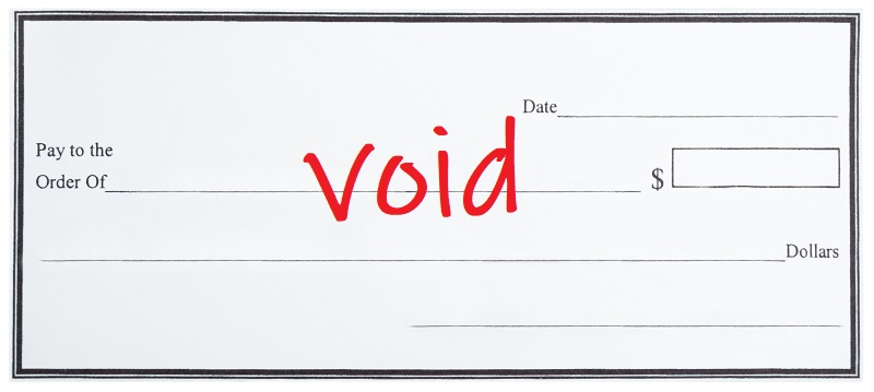 Voided Check, What is a Voided Check