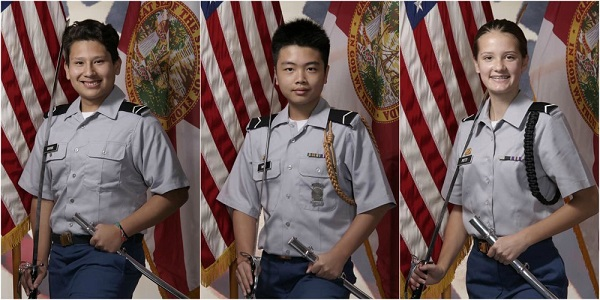 ROTC Cadets Receive Heroism Medal, Junior Cadets Honored