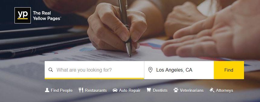 YellowPages.com, Yellow Pages Com, www yellow pages com