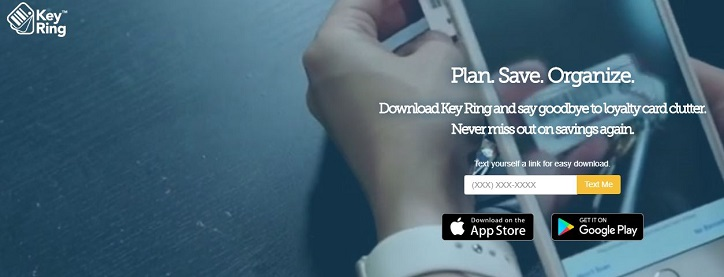 Loyalty Card App, Key Ring, Key Ring App
