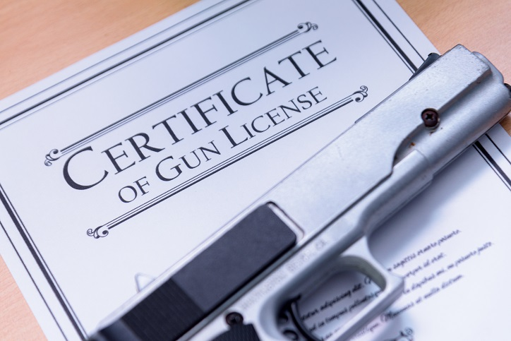 Class 3 Firearms License, Firearms License