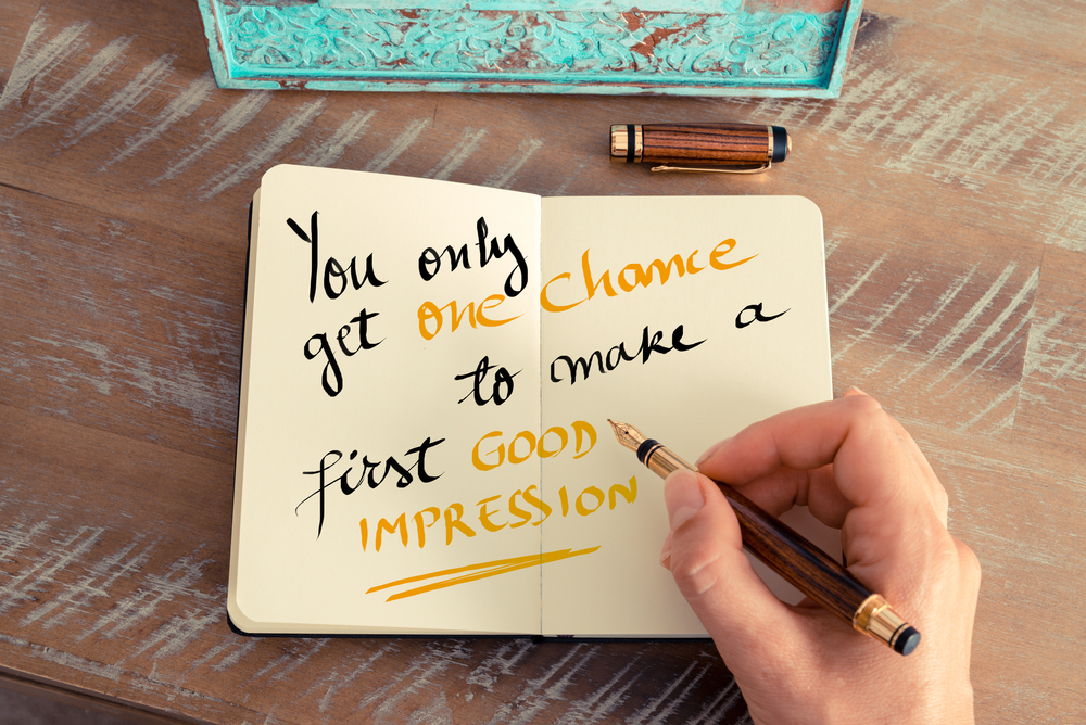 How to Leave a Good First Impression, First Impression