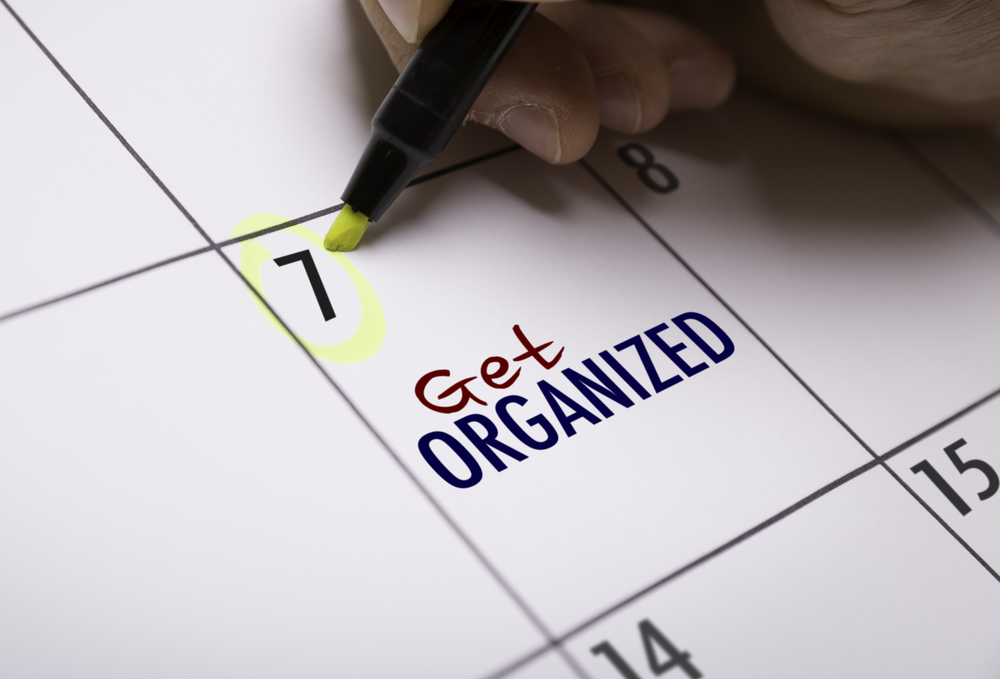 How to Get Organized, How to Be Organized, Organized