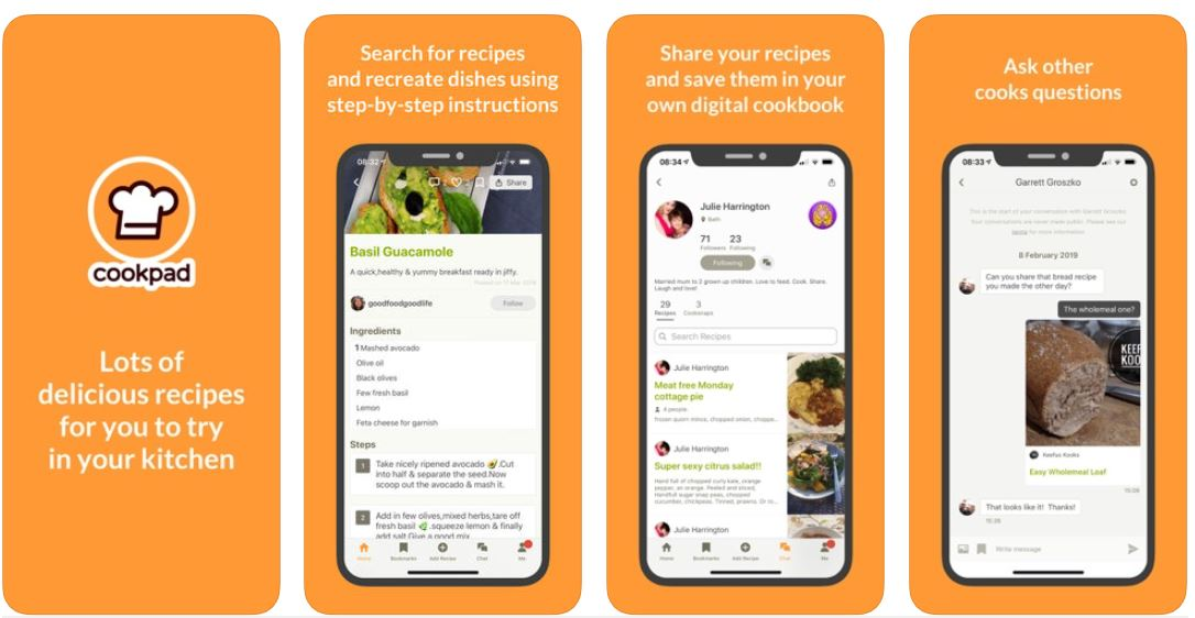 CookPad, CookPad App, CookPad Review