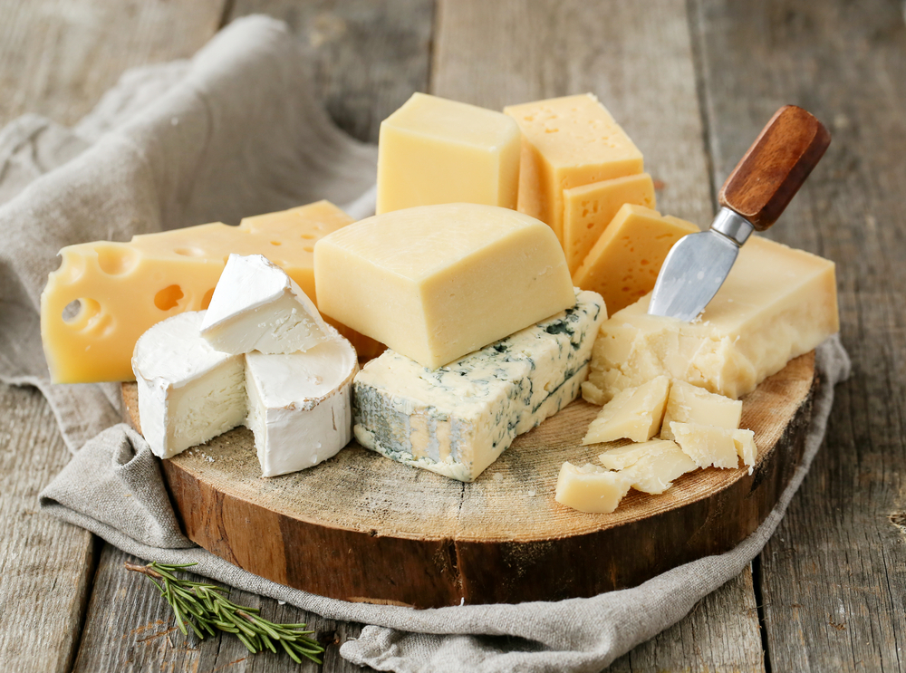 high fat food cheese