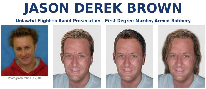 FBI most wanted JASON DEREK BROWN
