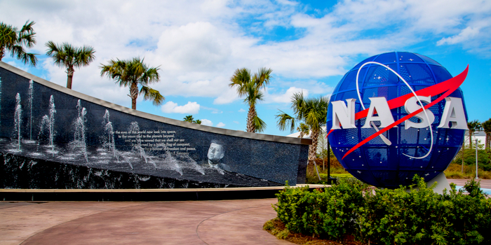 First Astronauts in the United States - NASA sign