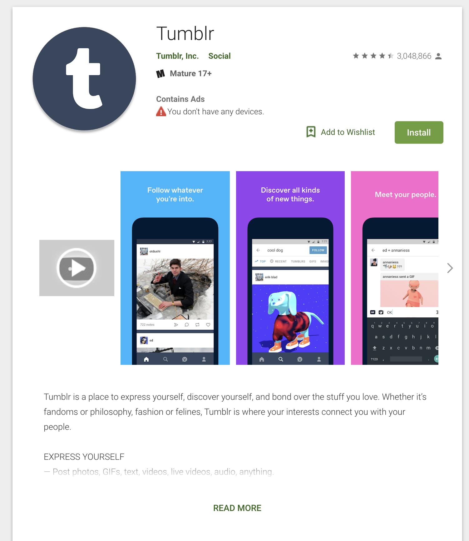 thumblr gif app