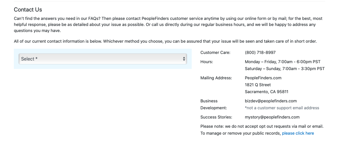 How to Cancel PeopleFinders.com