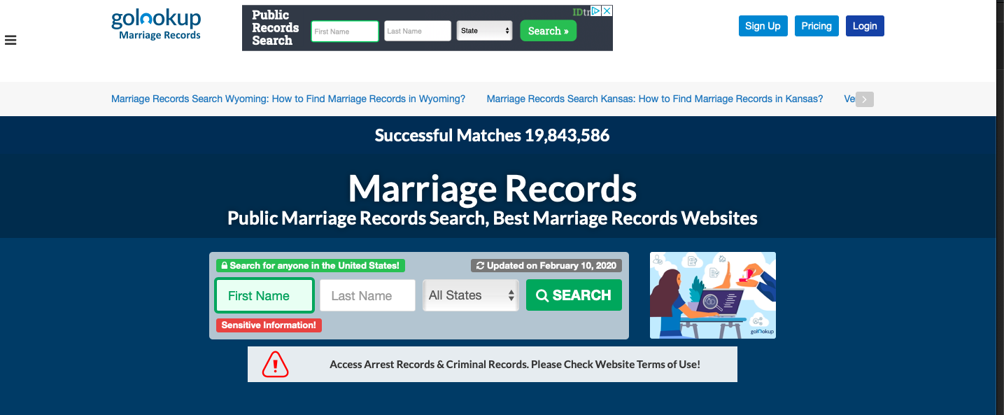 Marriage License Records Check. How to Find Marriage Records Online