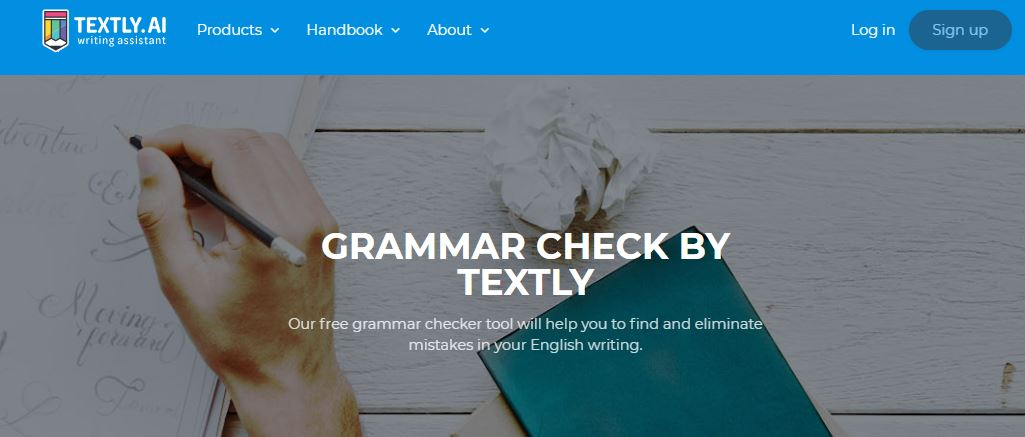 Textly.ai spell check