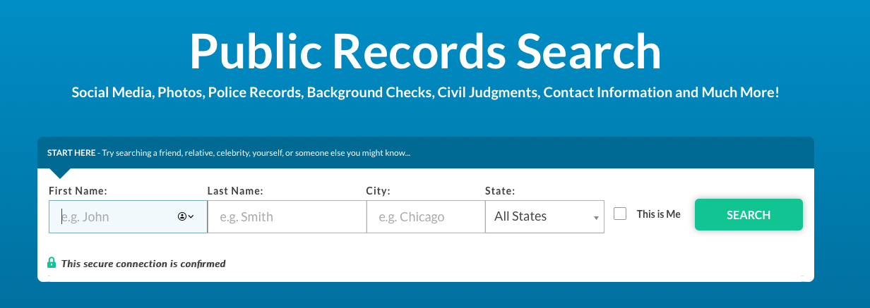 Cheap Background Check