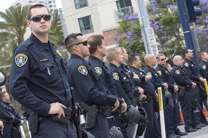 Irvine Police Departments