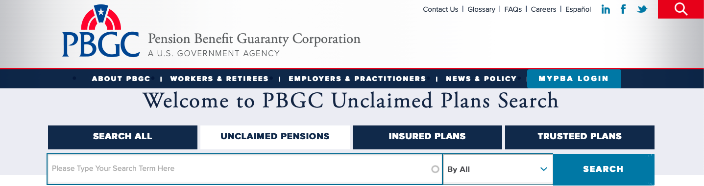 The Pension Benefit Guaranty Corporation