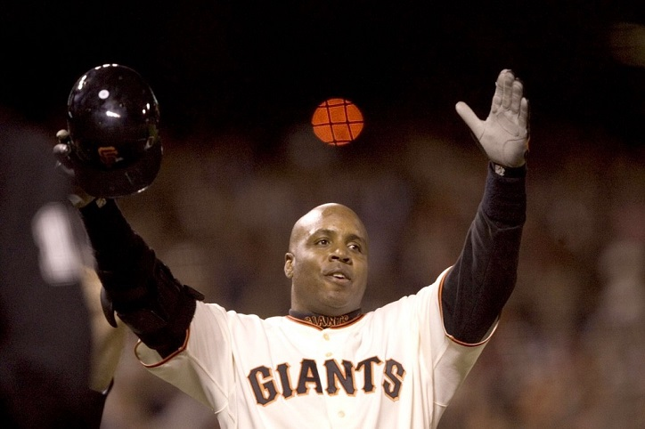 Barry Bonds Police Records