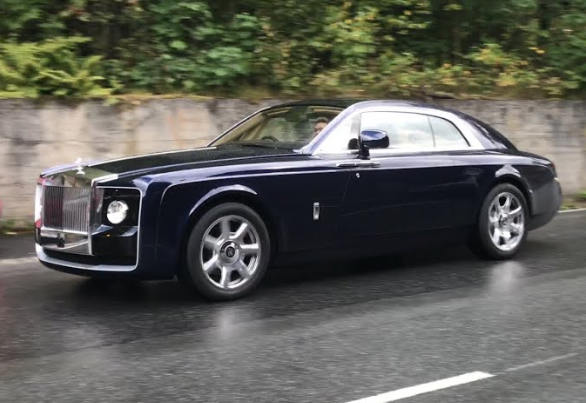 rolls royce swetptail most expensive car