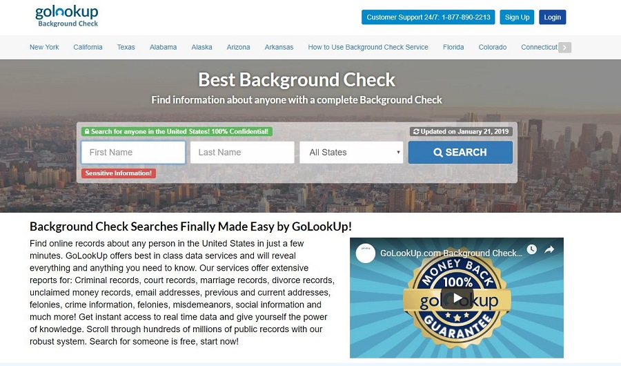 background check trial
