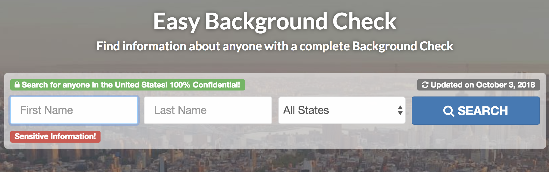best background check