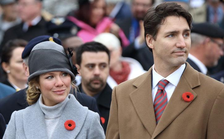 Sophie Gregoire Trudeau Coronavirus