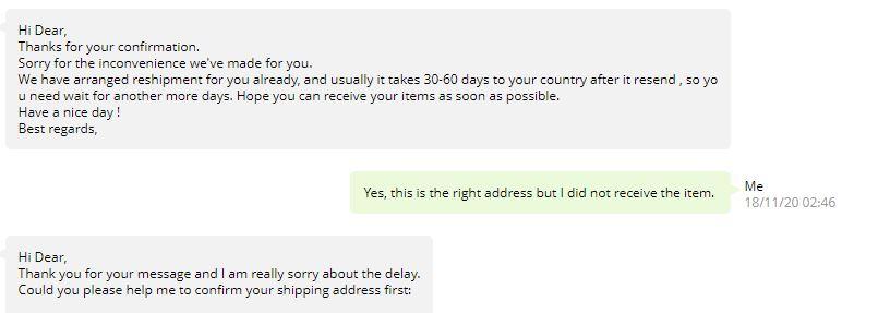 AliExpress customer support