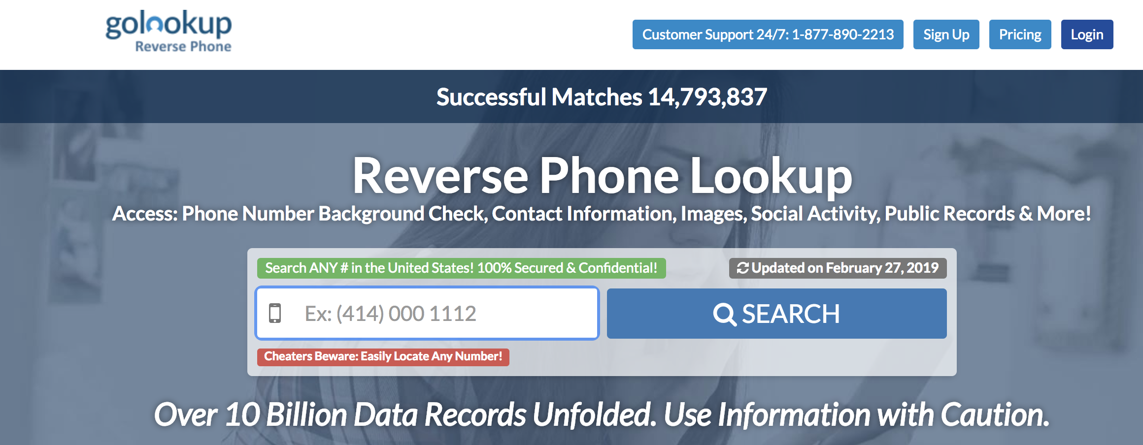 reverse phone directory for nonpublished listings