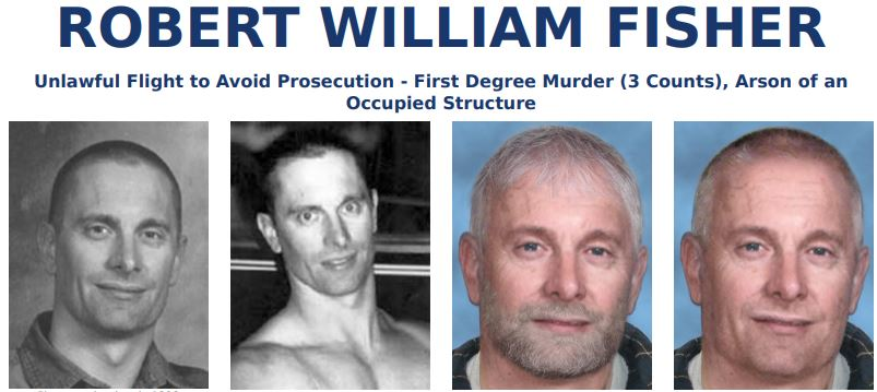 FBI most wanted ROBERT WILLIAM FISHER