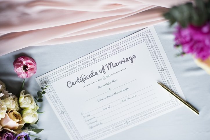 Kentucky Marriage License