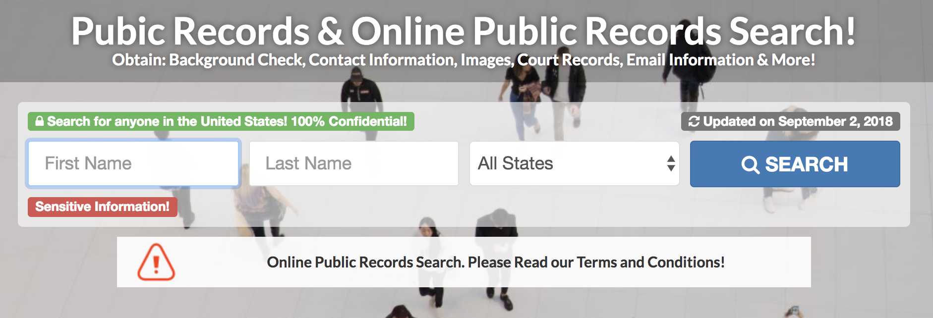 public records california