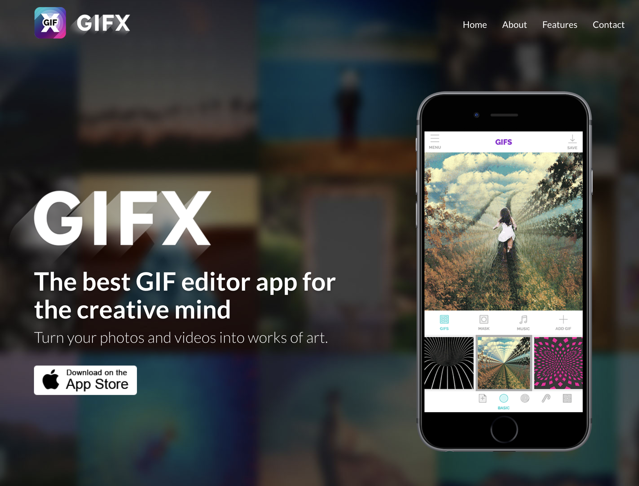 Gifx Apps. Best gif app