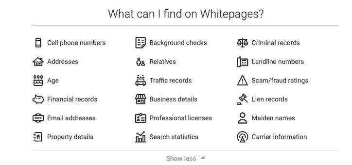 White Pages People Search