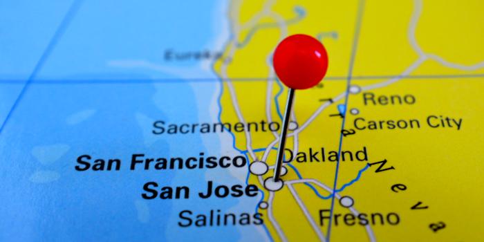 san jose information - a map of san jose
