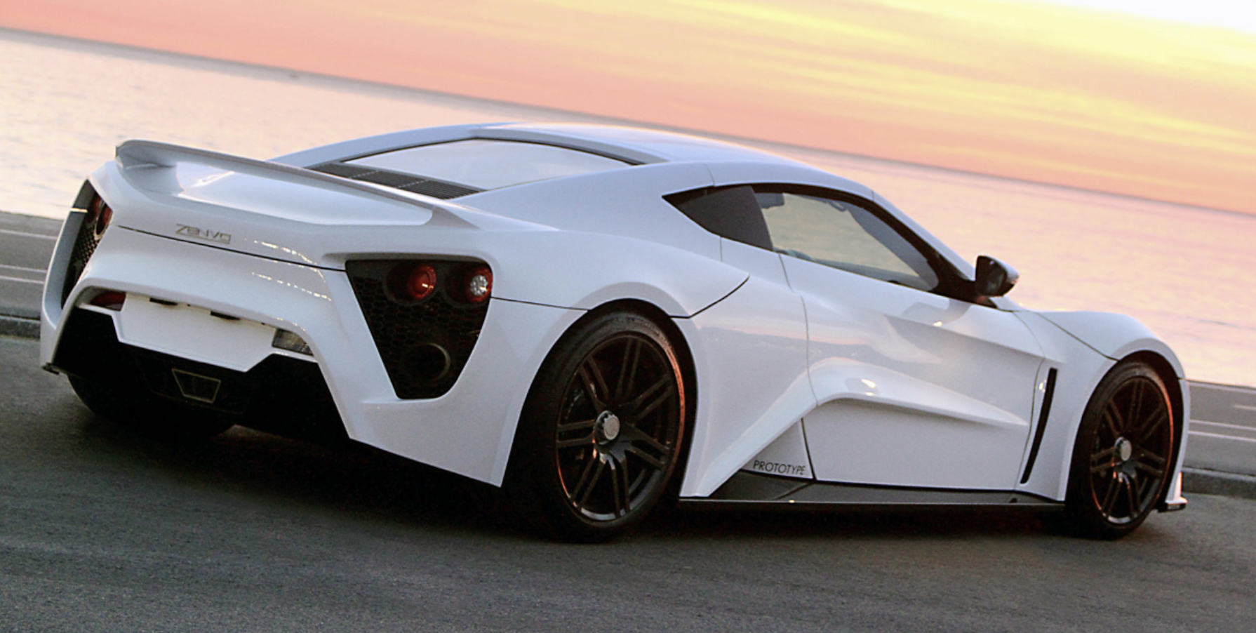 Zenvo ST-1 world fastest car