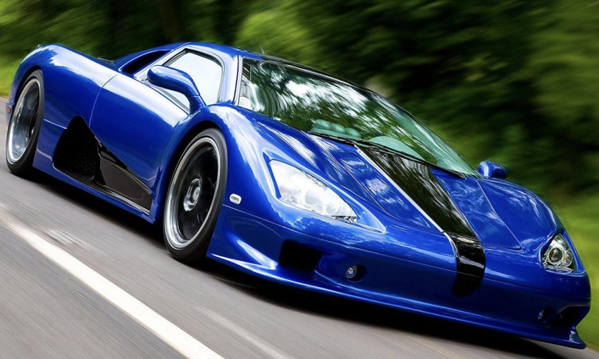 SSC Ultimate Aero world fastest cars