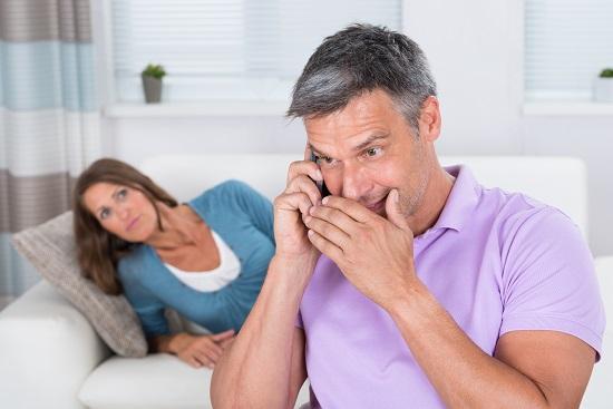 cheating husband lies