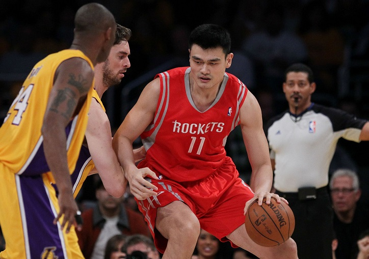 Yao Ming Public Records