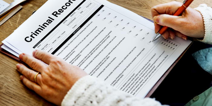 free public records - a man filling out a public records questionare