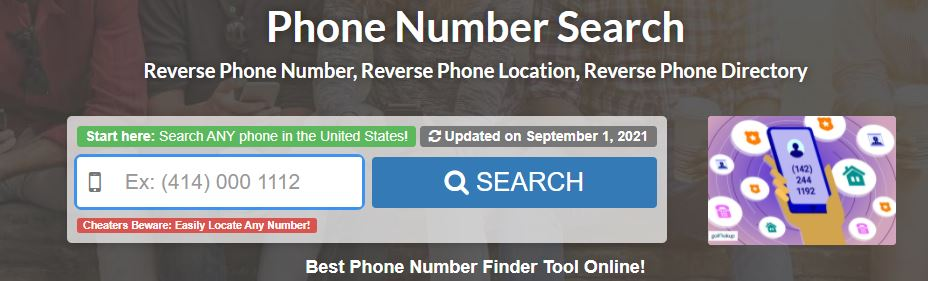 reverse phone number search