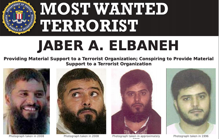 Most Wanted Terrorists by the FBI Jaber Elbaneh