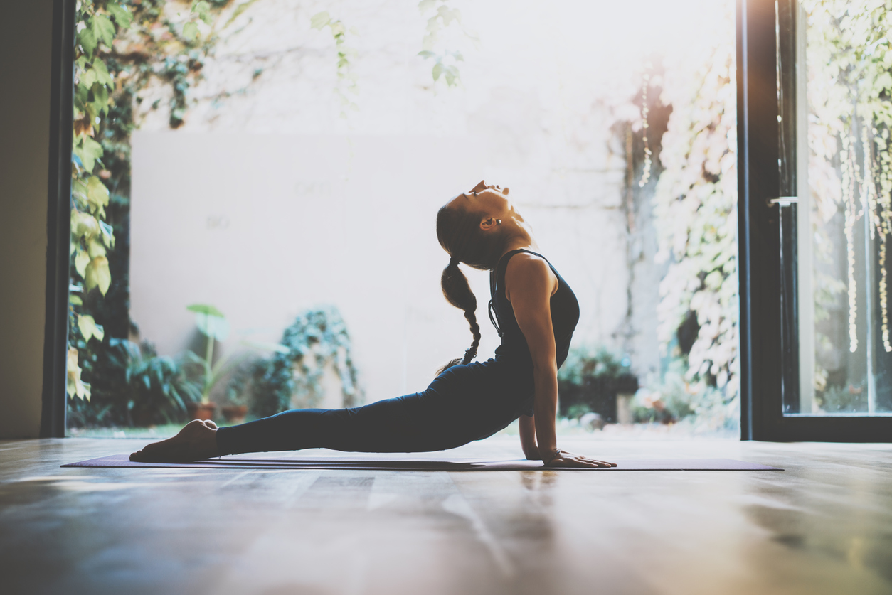 how to feel more relaxed yoga